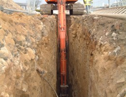 TD-100 Trenching in Halifax