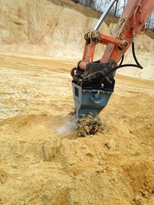 D20 Rockwheel Sand Quarrying