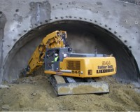 TD-140 on Liebherr for Tunnelling (2)